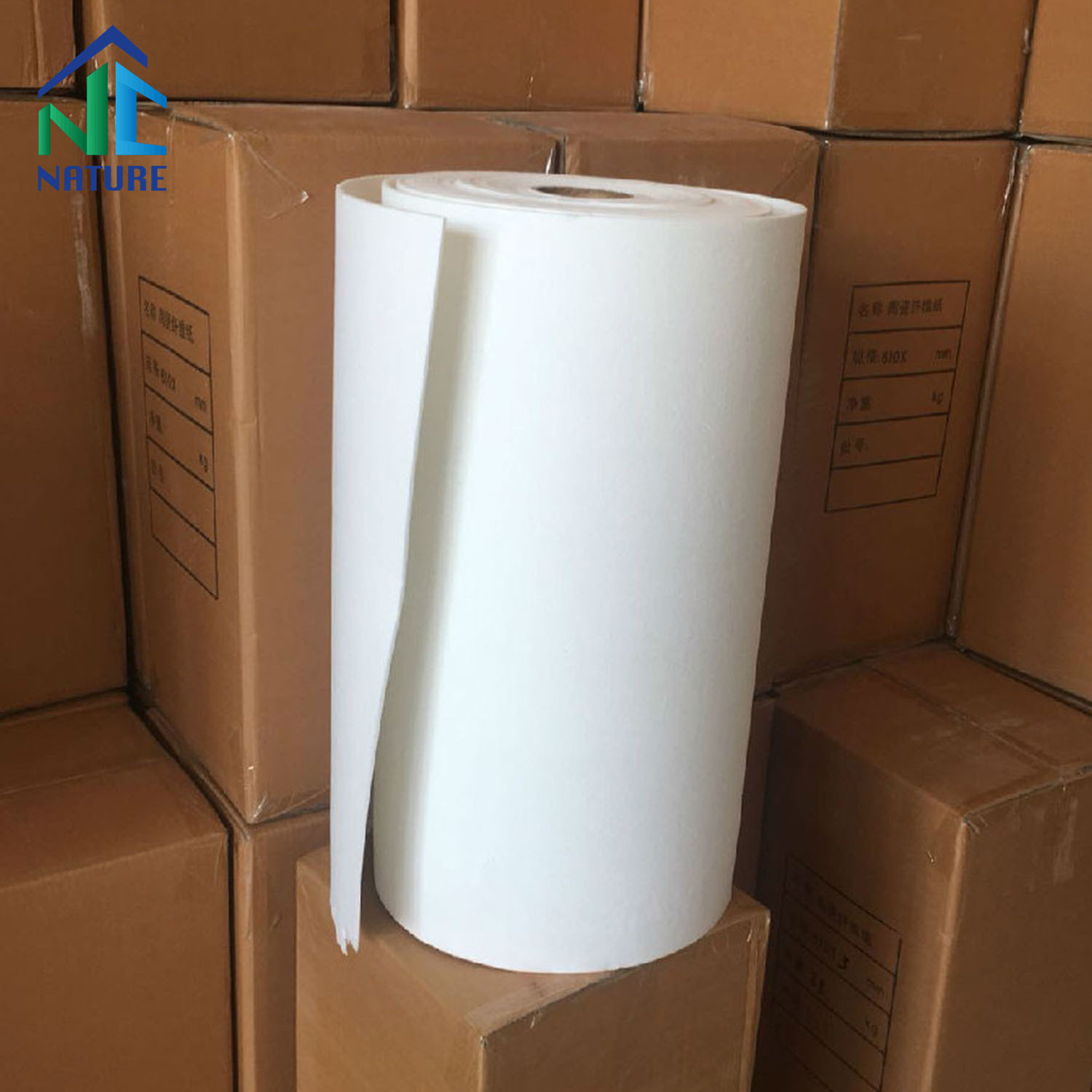1260c Size Customized High Pure Ceramic Fiber Paper for Furnace Heat Insulation pictures & photos