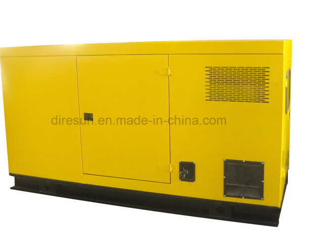 Cummins Engine Silent Generating Set 60 kVA Electric equipment Low Noise Type