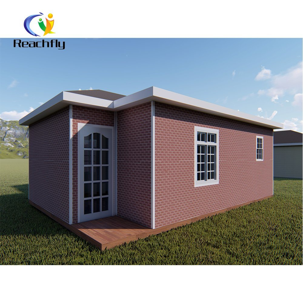China Low Cost 2 Bedroom Small Prefabricated House Kit