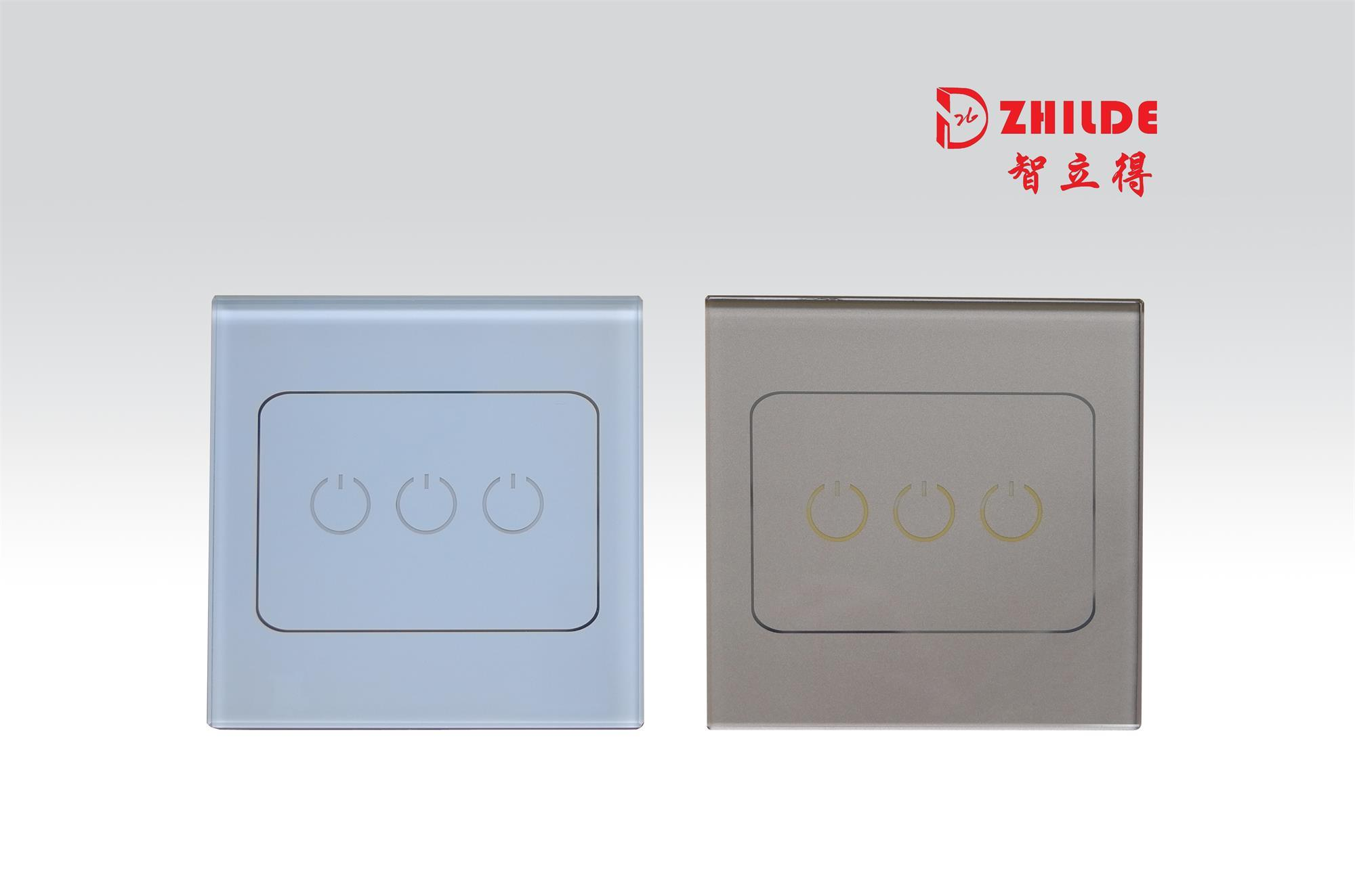 China WiFi Smart Touch Control Light Switch with LED Indicator White ...