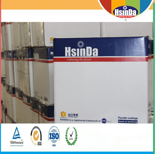 Hsinda Electrostatic Champagne Metallic Effect Bonded Powder Coating Paint pictures & photos