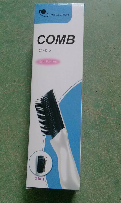 Health Massage Laser Comb, Electric Massage Hair Growth Comb pictures & photos