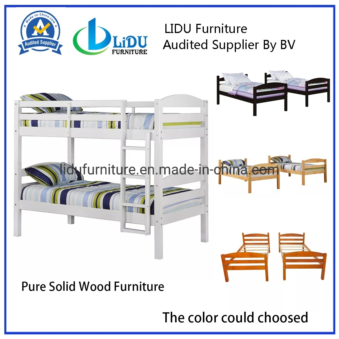 Picture of: China Kids Bedroom Furniture Set Children Bunk Bed With High Quality China Bunk Bed Wooden Bed
