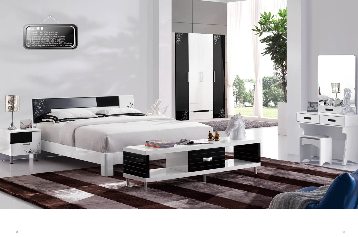 China Home Furniture Designs Full Master Bedroom Set (HC901A ...