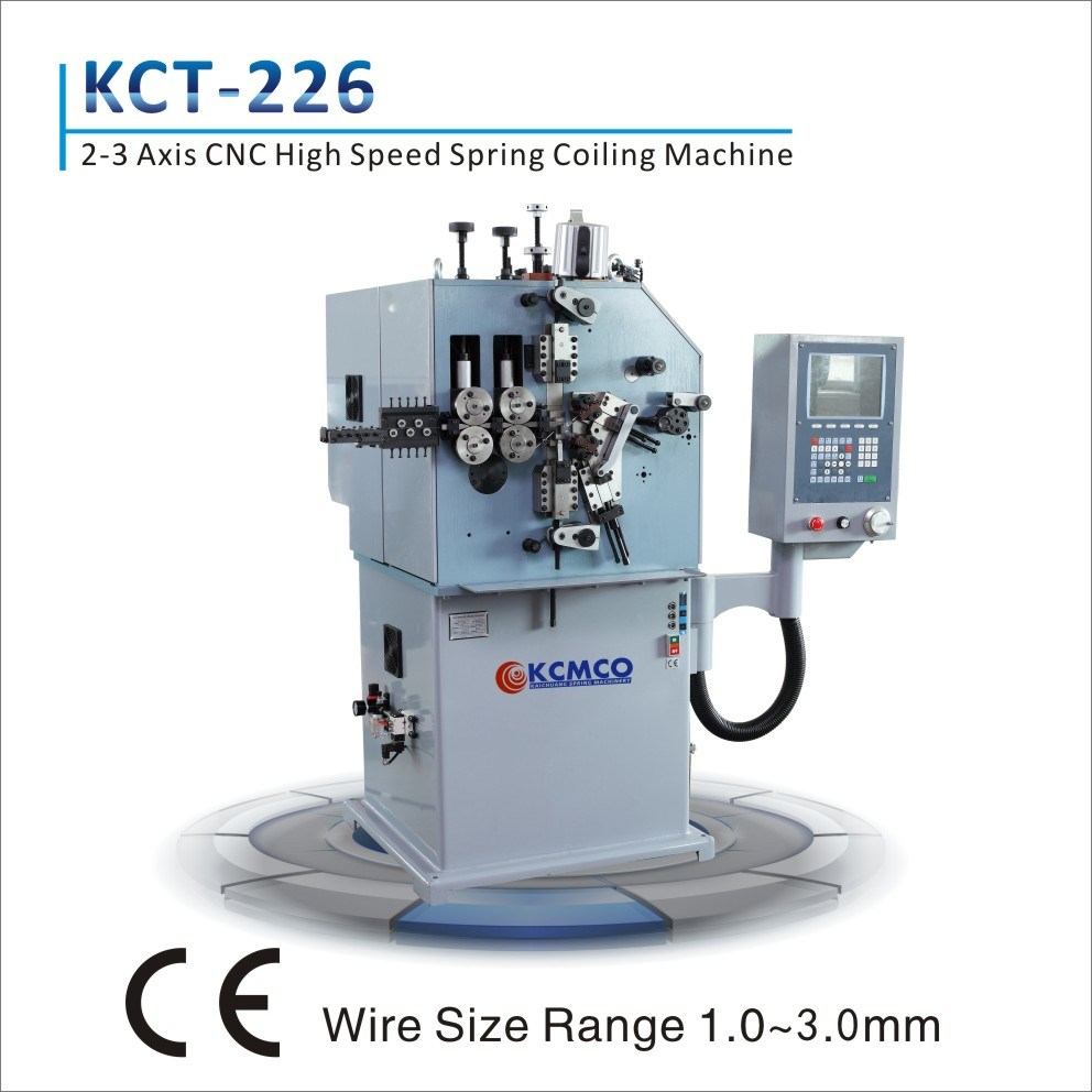 China 2mm CNC Wire Coiler &CNC High-Speed Long Compression Spring ...
