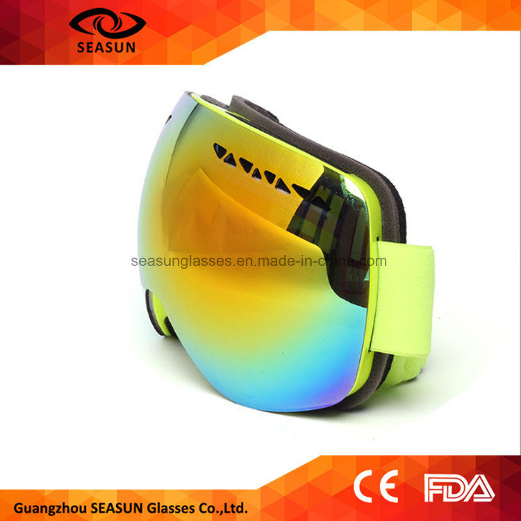 Hot Selling Big Lens High Quality Good Design Ski Goggles pictures & photos