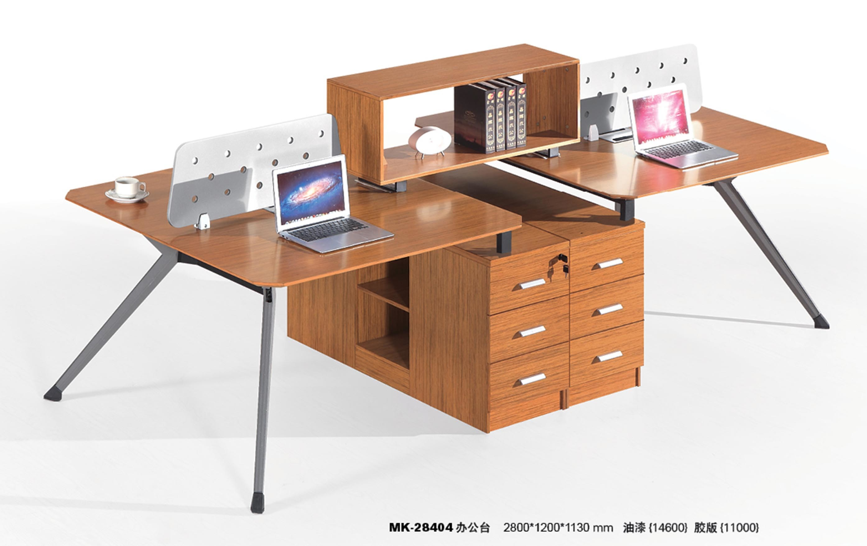 Modern Design Modular Wood Straight Computer Table pictures & photos