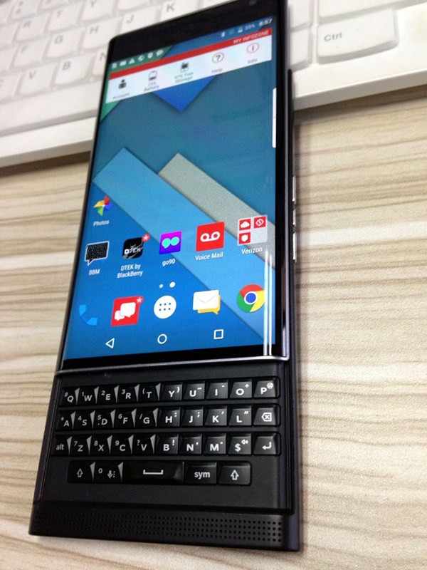 China New Product Bb Original Mobile Phone of Priv with