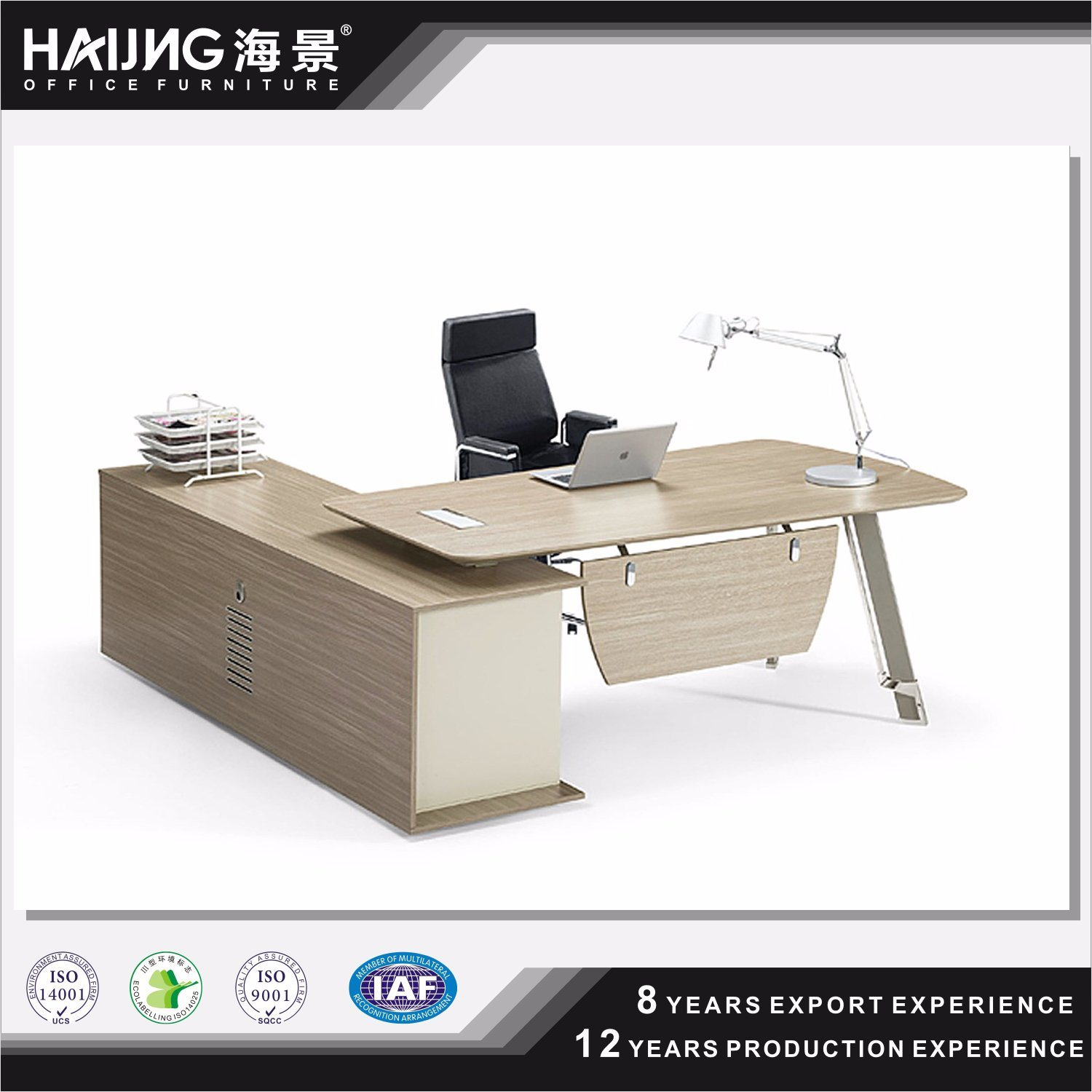China High Quality Office Desk Kd Study Table Models Computer For Executive Wooden