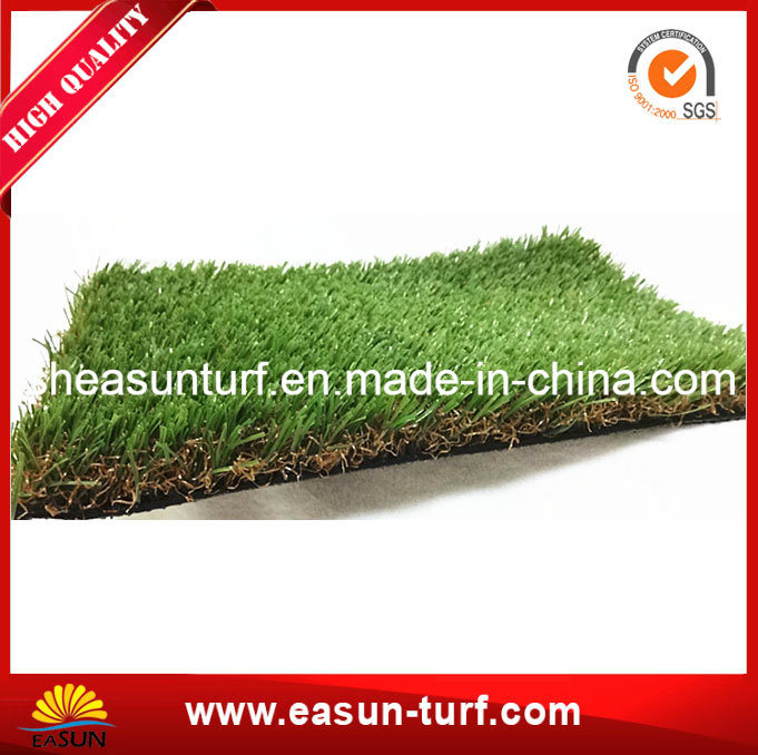 Fire-Resistant Synthetic Grass for Garden pictures & photos