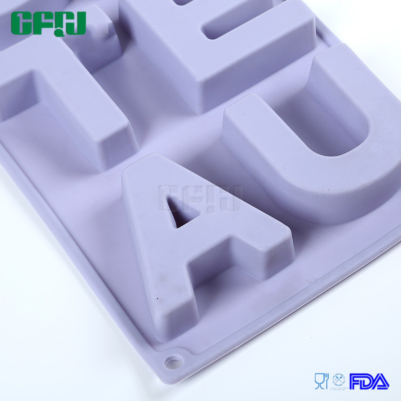 DIY Chocolate/Fondant /Embossed Printing Mould Silicone Decorating Cake Molds Gateau