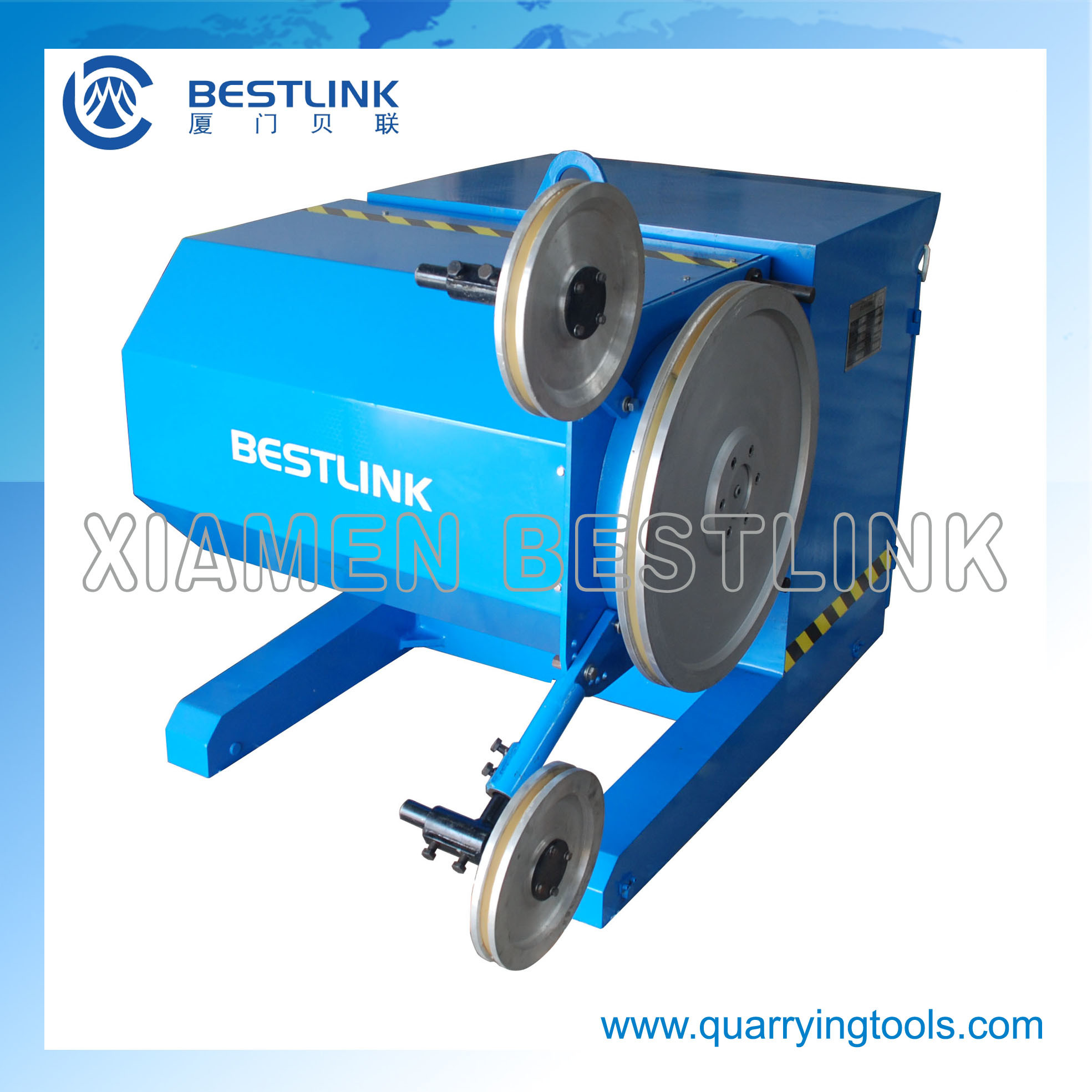 China Diamond Wire Saw Machine for Concrete Cutting - China Wire Saw ...
