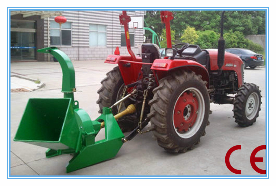Tractor Pto : China small tractor pto driven wood chipper ce approval