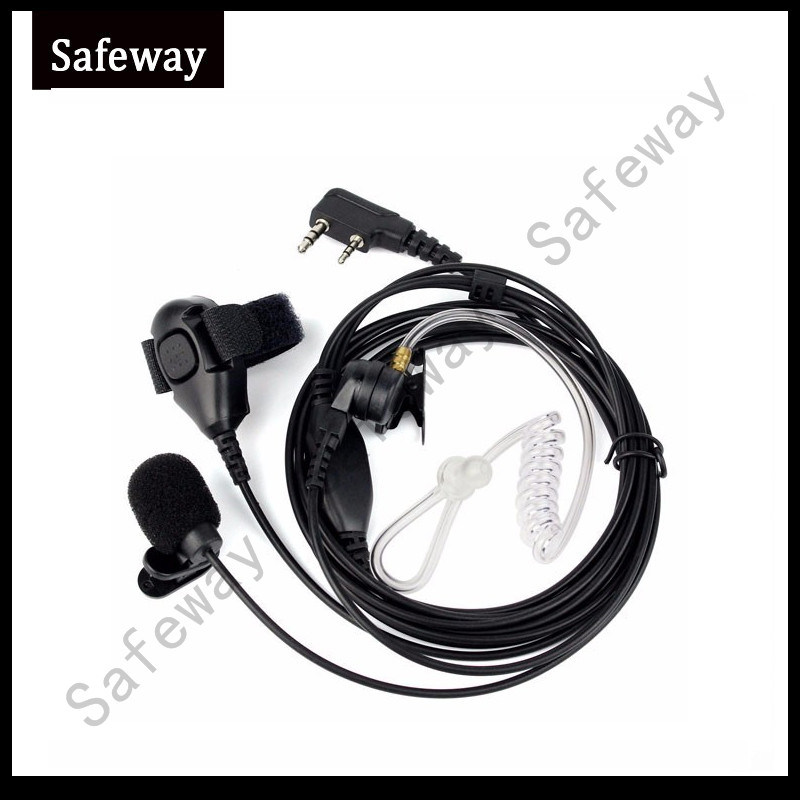 3 Wire Acosutic Tube Earpiece for Kenwood Walkie Talkie pictures & photos