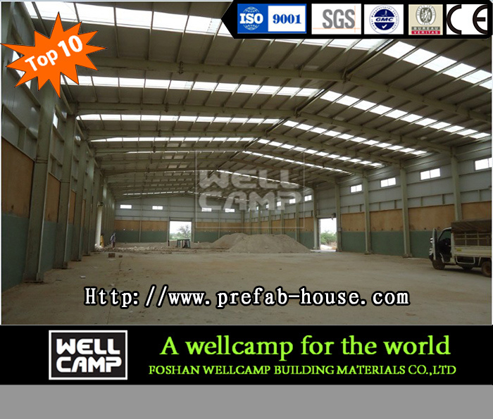 Color Steel Sheet Steel Structure Warehouse for Sale pictures & photos