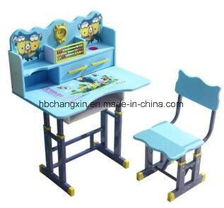 Factory Price Metal Table Kid Reading Single Desk And Chair