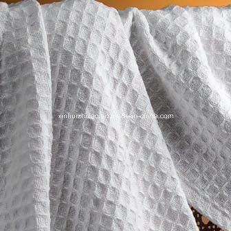 100%Cotton Waffle Fabric and Honeycomb Fabric pictures & photos