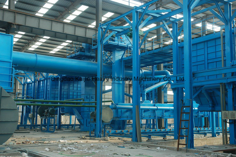 V Method Casting Equipments/ Vacuum Molding Production Line