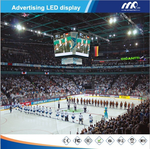 P16 Sports LED Display/Perimeter LED Display (3906pix/m2 Stadium Screen) pictures & photos
