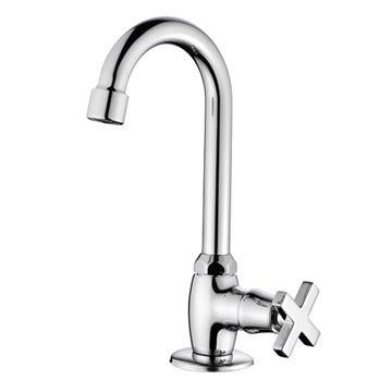 China Cross Handle Cold Water Kitchen Tap Kitchen Faucet China Faucets Kitchen Faucet