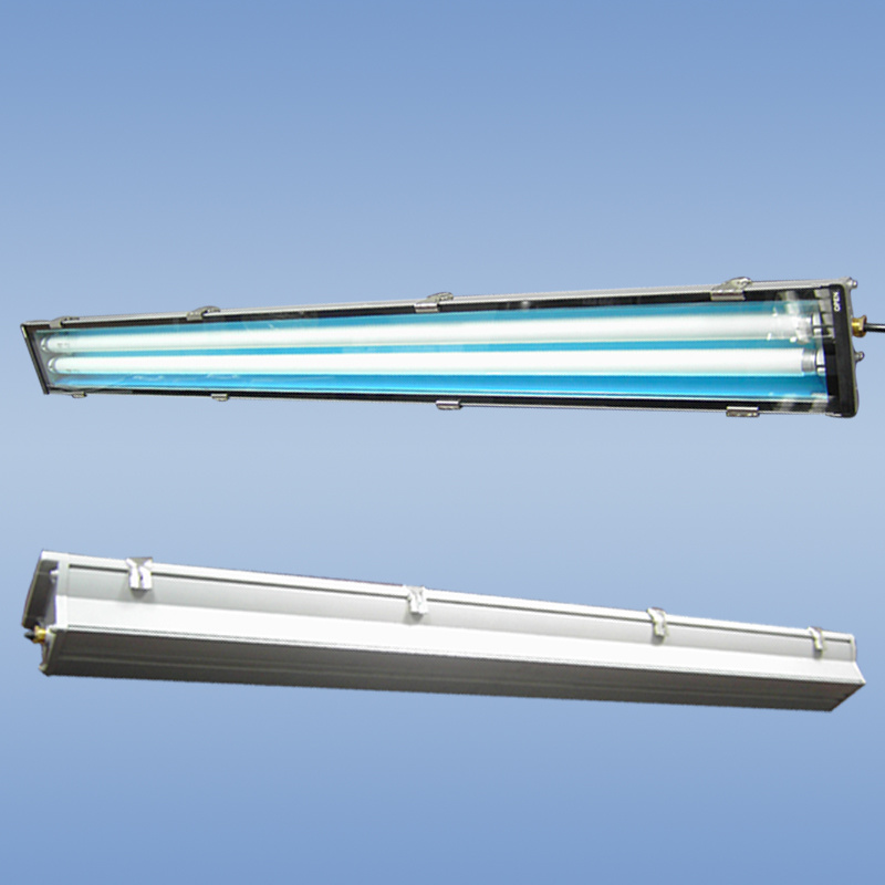 China 2x36w T8 Waterproof Fluorescent Lamp Fixture Ip65 Flame Proof 56w