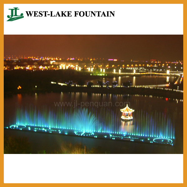 Music Dancing Water Fountain with Floating System for Lake pictures & photos