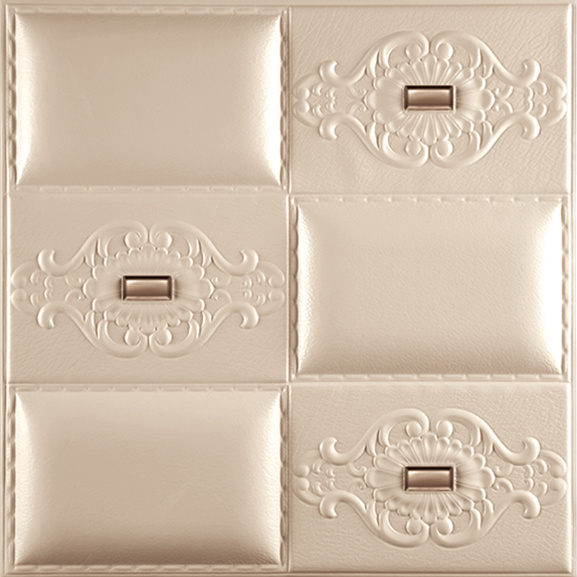 1087-20 Leather Wall Board for Wall Decoration 3D Wall Panel