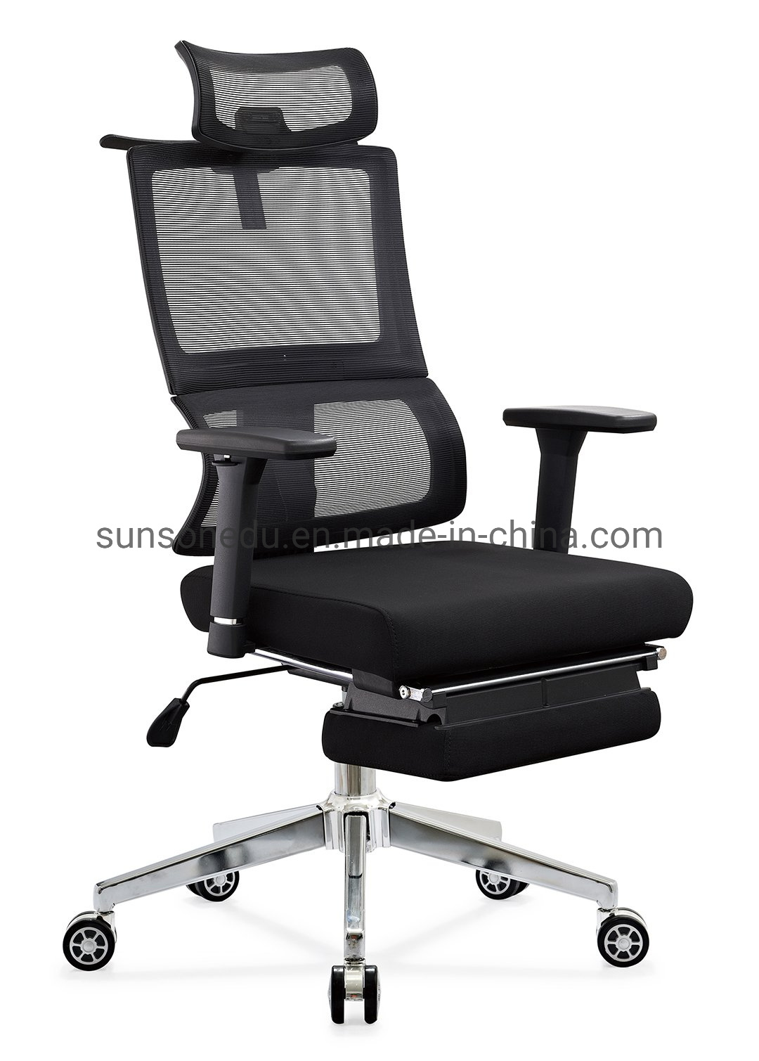 Hot Item High End Ergonomic Full Mesh Patented Manager Office Chair With Footrest