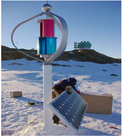 1kw Maglev Wind Energy Generator in Frozen Area (200-5kw)