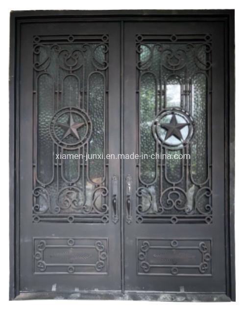 China Iron Front Doors Lowes For Sale China Security Door Exterior Door How do you choose an exterior door? hot item iron front doors lowes for sale