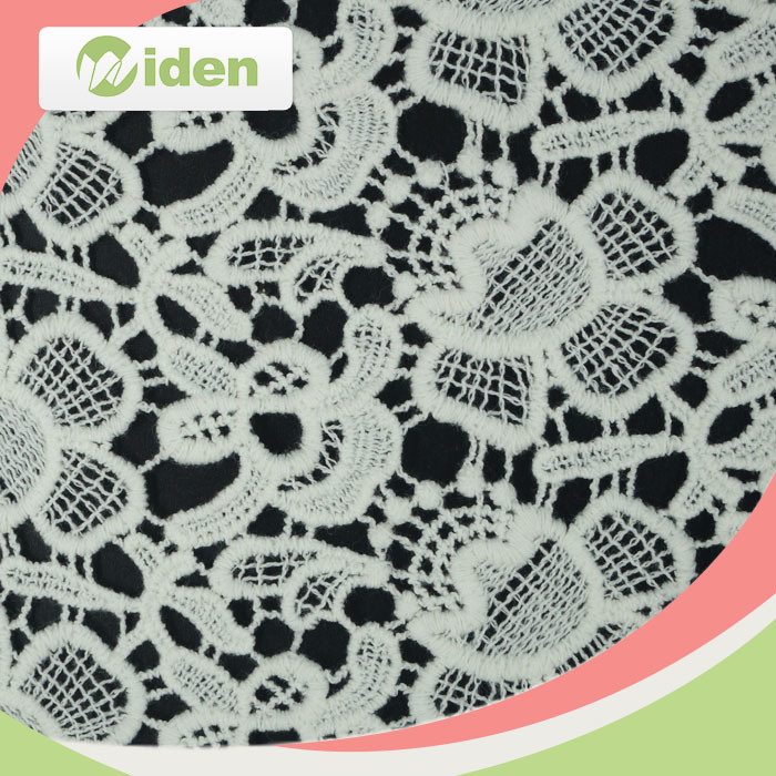 Hot Sell Cotton Lace Water Soluble Lace Fabric
