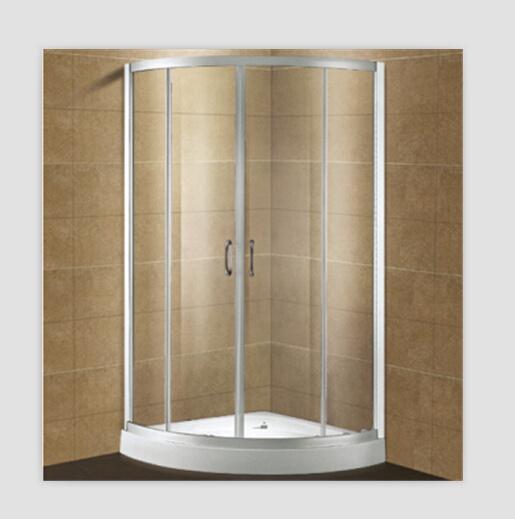 China 1 2mm Aluminum Elegant Self-Cleaning Glass Shower Enclosures