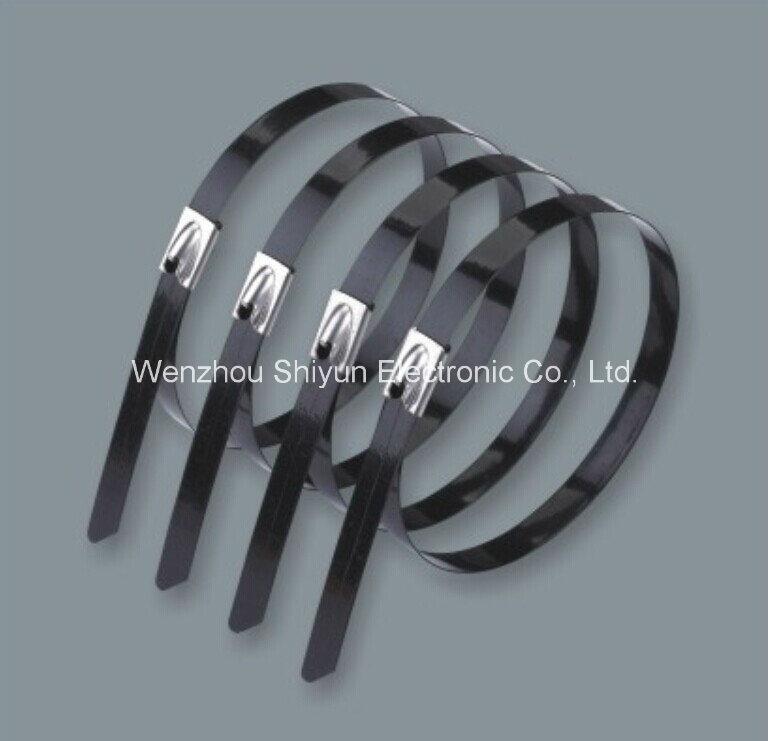 Q235 ,Q345,Q195,B235 Black blue Painted Steel Strapping