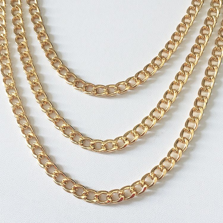 China New Gold Chain Design Metal Necklace Chain Men Gold Chains ...