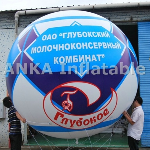 Printing Logo Wholesale Inflatable Helium Balloons for Commercial Use