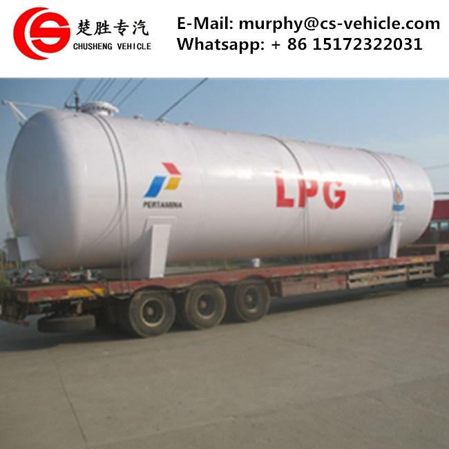 China 100 M3 Lpg Storage Tank 50mt Lpg Gas Bullet Tank