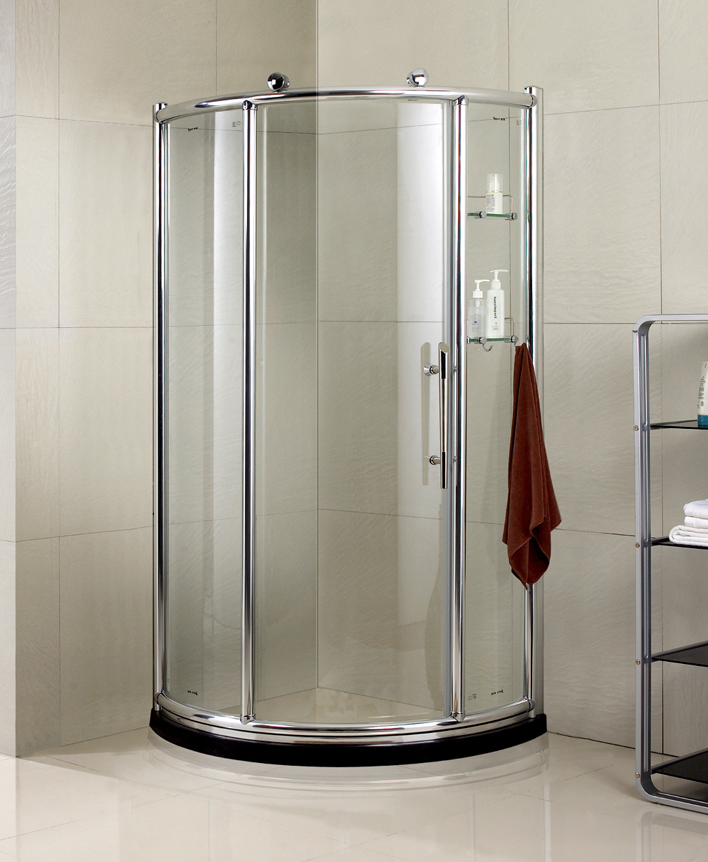 China 8mm Tempered Glass Sliding Door Bath Shower Cabin Stall