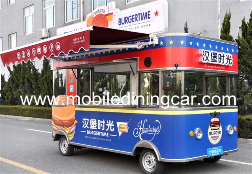 China Food Vending Trailer Cars for Sale Mobile Restaurant Truck ...
