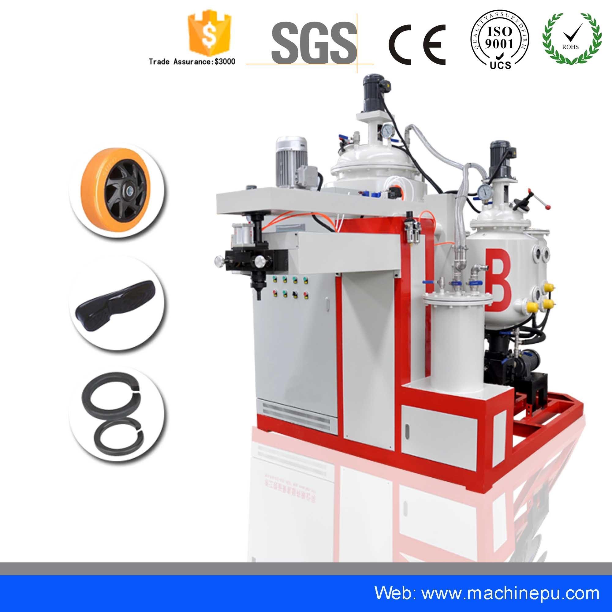 [Hot Item] China PU Air Filter Machine High Temperature Elastomer Casting  Machine