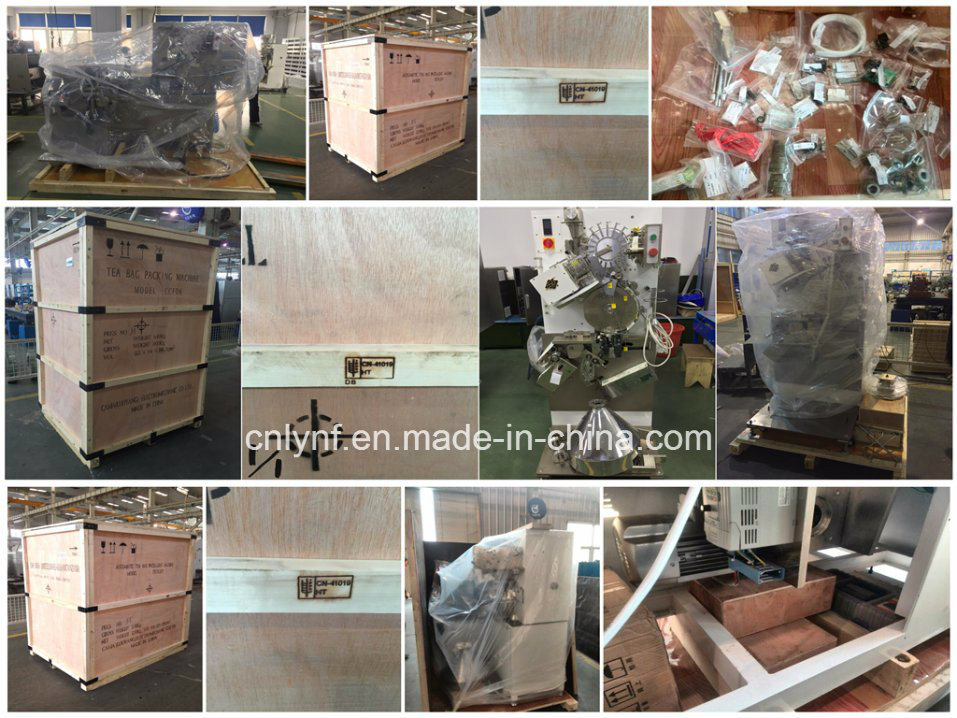 Tea Bag Machine with Crimped Outer Bag Model Ccfd6//31 Years Factory for Tea Bag Packing Machine// pictures & photos