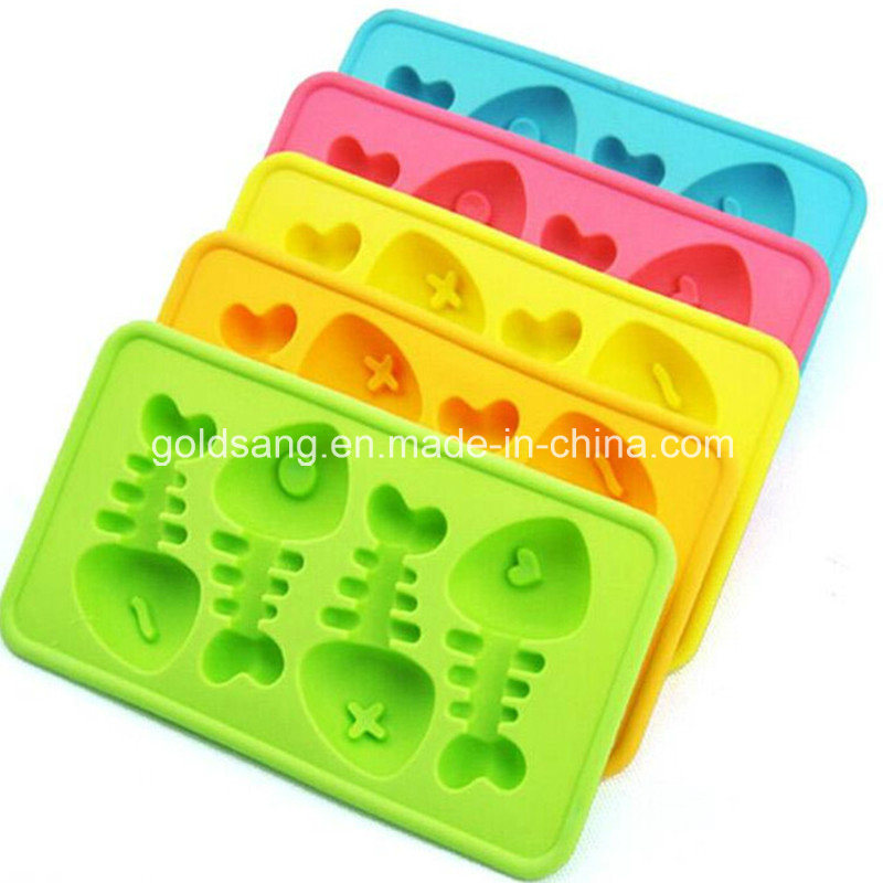Various and Colorful Silicone Ice Cube Tray/ Cake Mould pictures & photos
