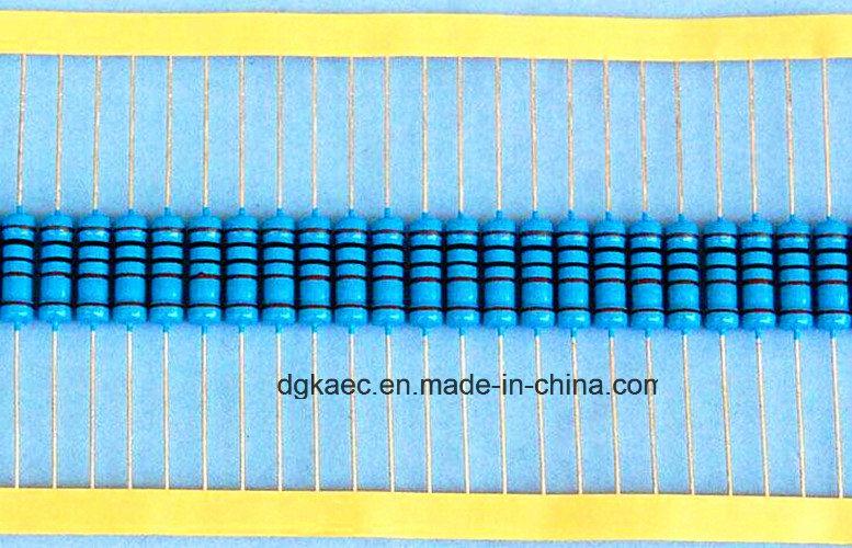 China Mf 2W 100ohm 1% T63 Copper Wire High Precision Metal Film ...
