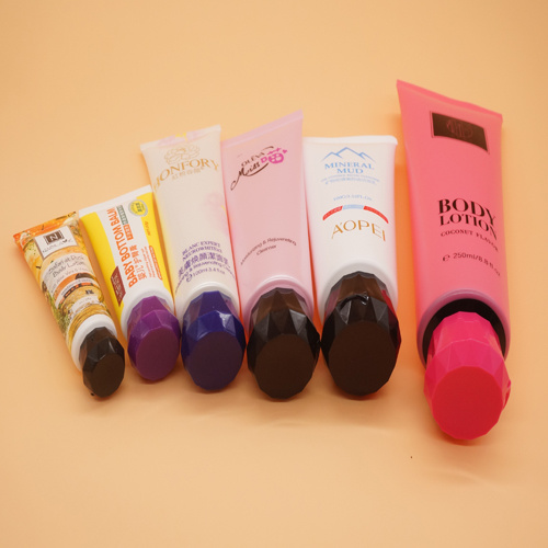 Hand Cream Cosmetic Plastic Packaging Tube with Flip-Top Cap pictures & photos