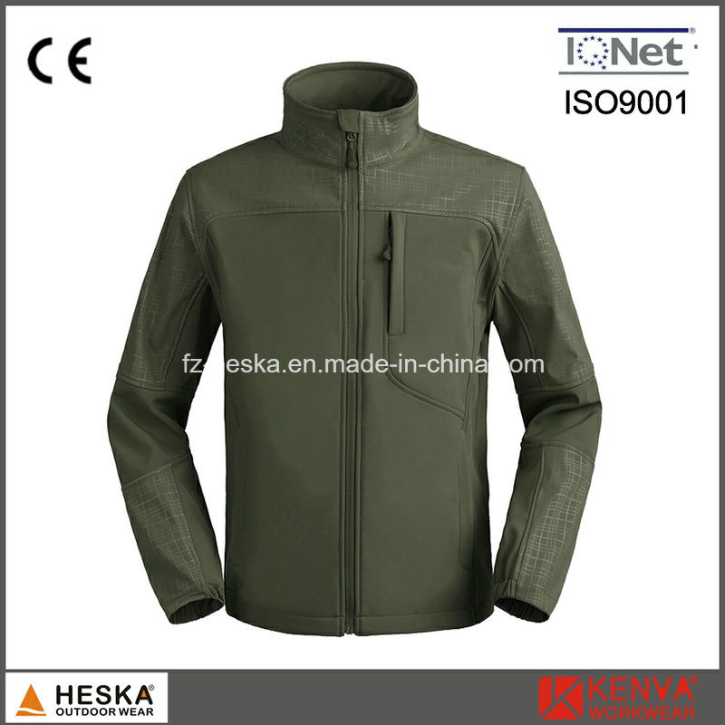 Wholesale Waterproof Breathable Softshell Jacket Men Outdoor Wear pictures & photos