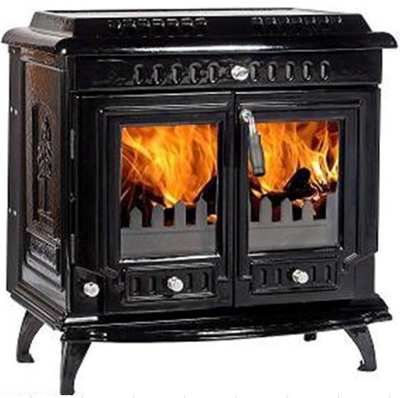 China 667 Free Standing Wood Burning, Cast Iron Fireplace Wood Burning Stove