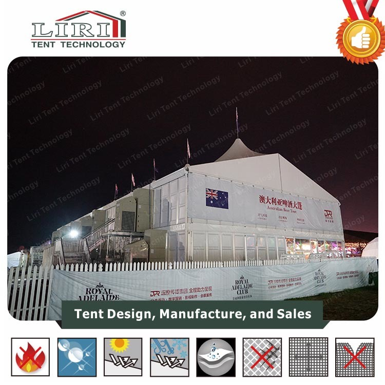 30X50m Liri Wedding Tent for Sale Manufacturers in South Africa pictures & photos