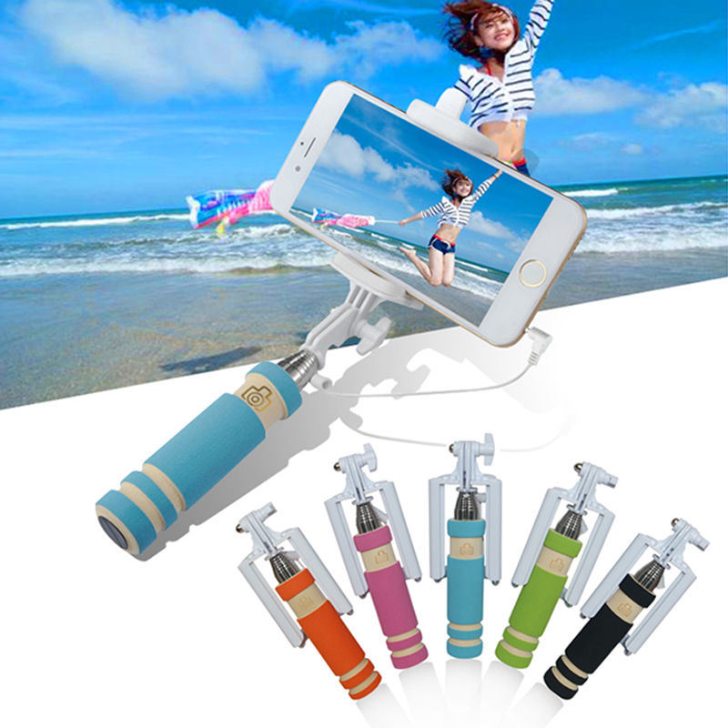 Monopod Colorful Selfie Stick for Xiaomi, Huawei, Lenovo, iPhone Ios and Andriod Smart Phone
