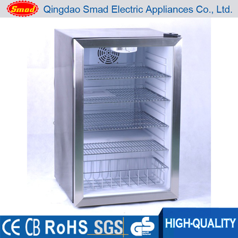 Countertop Mini Glass Door Display Fridge