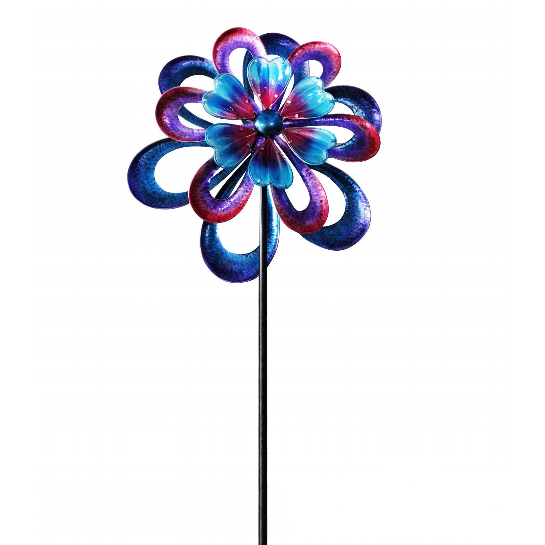 Wind Spinner Kinetic Art Garden Stake