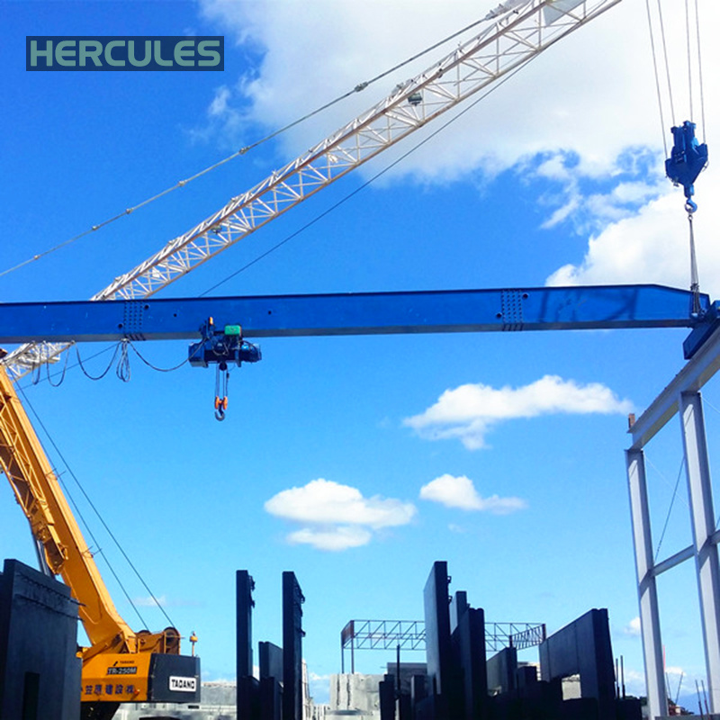 High Quality Single Girder Bridge Crane pictures & photos
